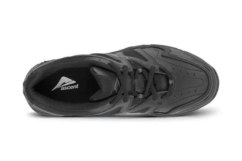 Ascent - Sustain - Lim's School Shoes -Boys and girls school shoes .Available in black and white. Leather and sport