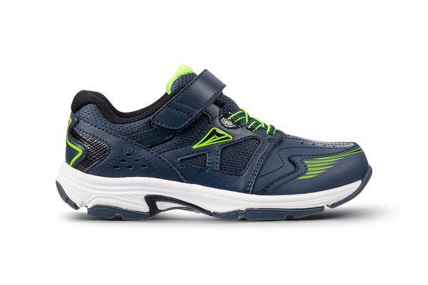 Ascent - Sustain Jr (Cobalt/Lime) - Lim's School Shoes -Boys and girls school shoes .Available in black and white. Leather and sport