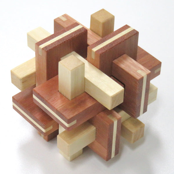 Pseudo Ovolo - interlocking burr puzzle
