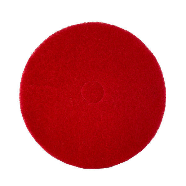 21 Inch Red Buff Pad 5/Case SR21