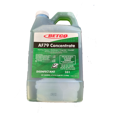 Betco AF79 Bathroom Cleaner - Fast Draw 4/Case
