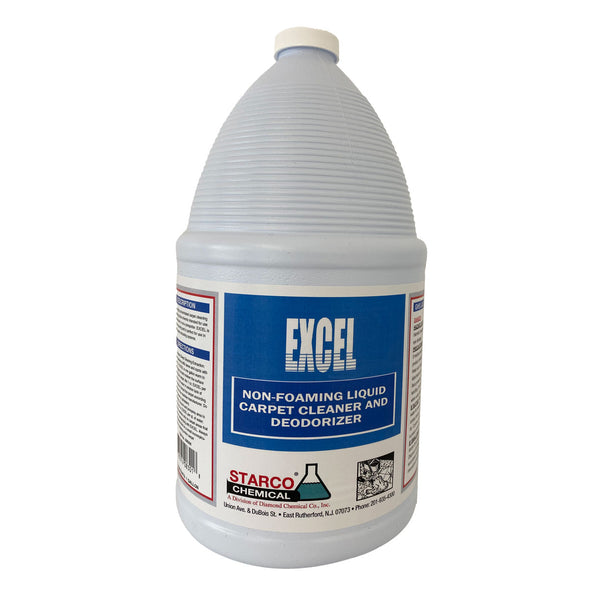 Excel Non Foaming Carpet Cleaner and Deodorizer - 4 gal/Case