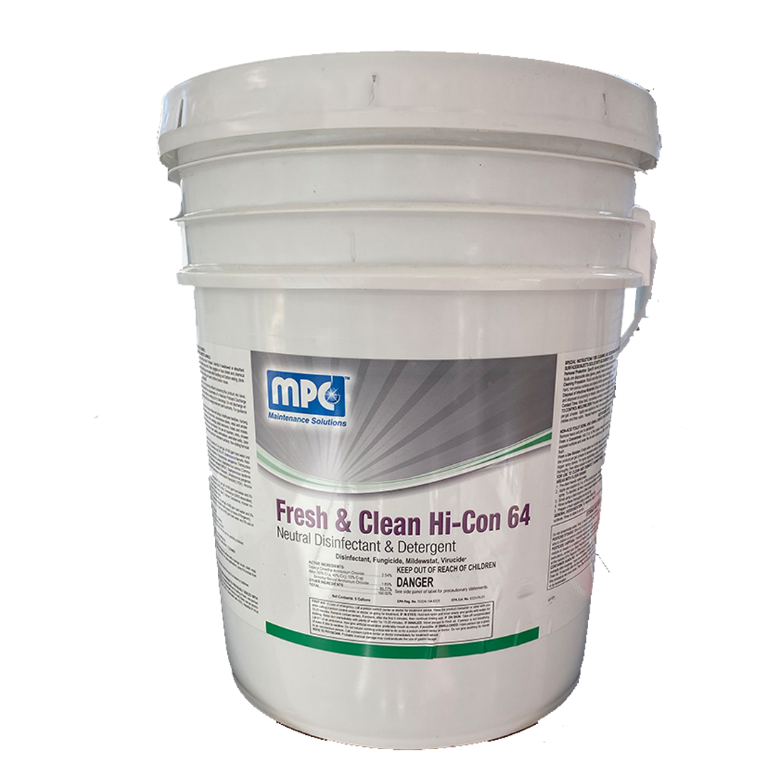 Misco Fresh & Clean Hi Con 64 - 5gal Bucket