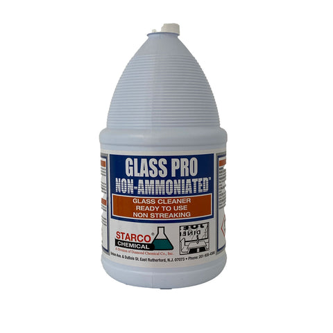 Glass Pro Non-Ammoniated Glass Cleaner Gallon - 4/Case