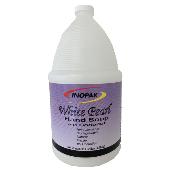 Inopak White Pearl Hand Soap w/Coconut - 4/Case
