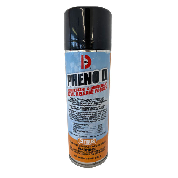 Pheno D Disinfectant and Deodorant Total Release Fogger - 6oz can