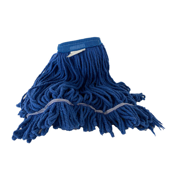 Wet Mop - #24 M Blue Looped End