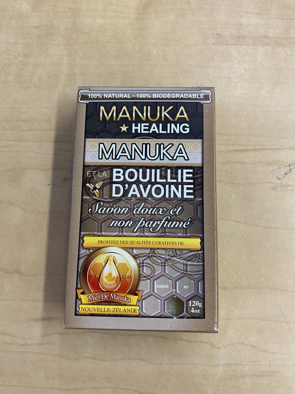 Manuka Honey and Oatmeal Soap