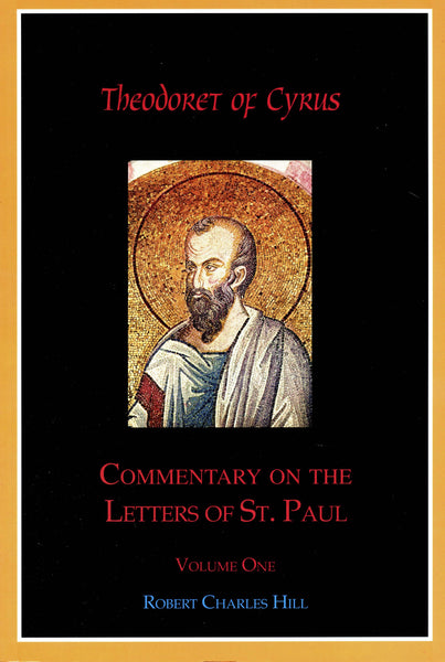 Commentary on the Letters of St. Paul, Vol 1