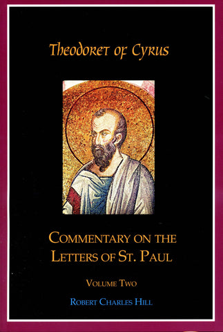 Commentary on the Letters of St. Paul, Vol 2