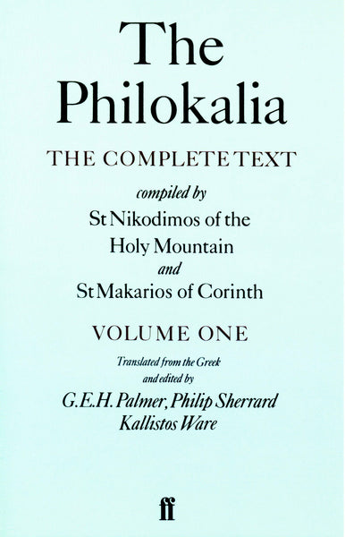 The Philokalia, Vol. 1