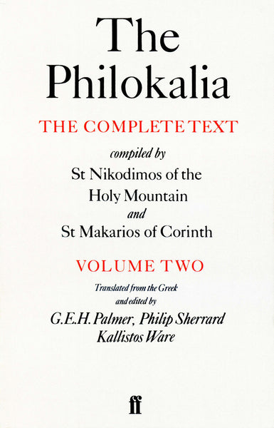 The Philokalia, Vol. 2