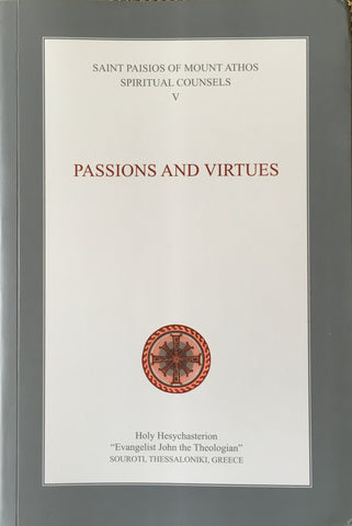 Pre-Order -  Spiritual Counsels Vol. 5: Passions and Virtues