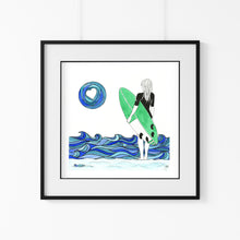 Load image into Gallery viewer, 'Active Ocean' Giclee Art Print