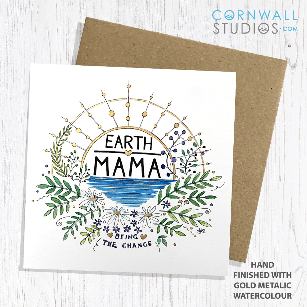 Earth Mama Greetings Card