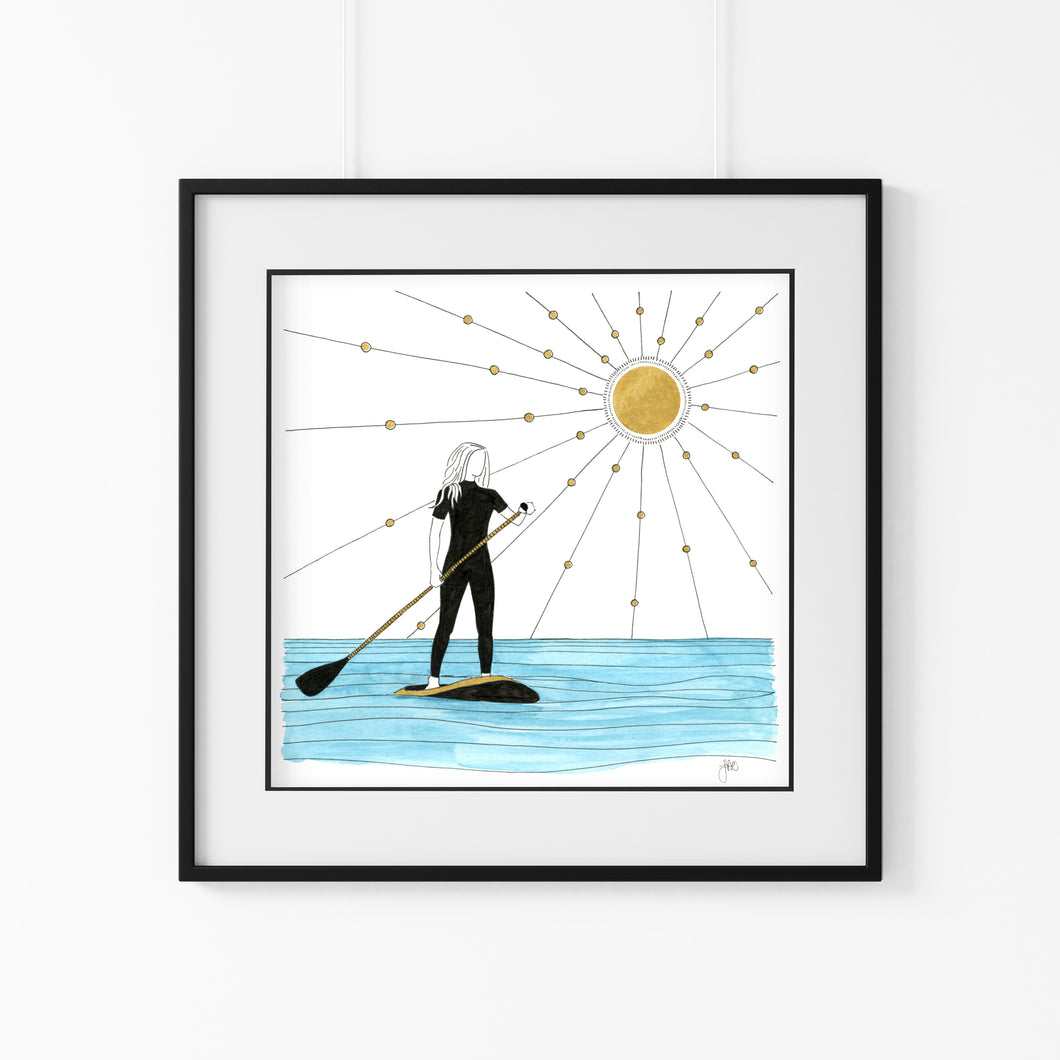 SUP Home Giclee Art Print