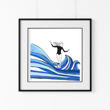 Load image into Gallery viewer, 'Hang Ten' Giclee Art Print