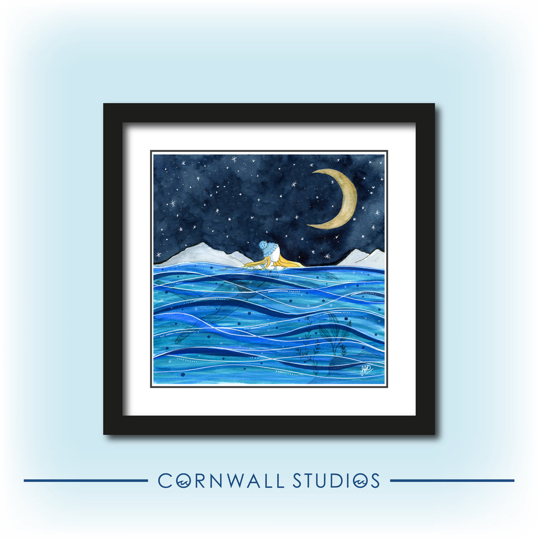 'Starry Night Swim' Giclee Art Print