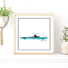 Load image into Gallery viewer, 'Waiting For A Wave!' Giclee Art Print