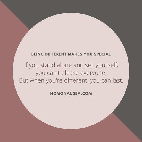 entrepreneurial quote about being different is beautiful