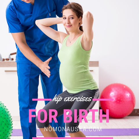 Birthing hip exercises to do with your wife