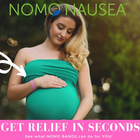 Acid Reflux Help during Pregnancy - Natural GERD relief on your wrist NoMo Nausea