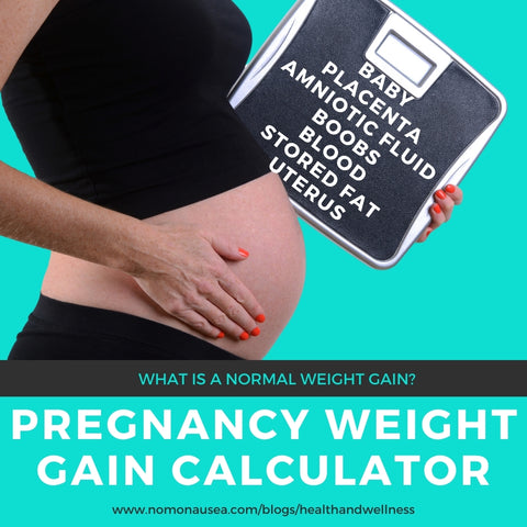 What is a healthy weight gain during pregnancy