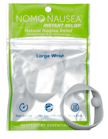 Grey Chemotherapy & Cancer Nausea Relief Adult Wrists - Set of 2