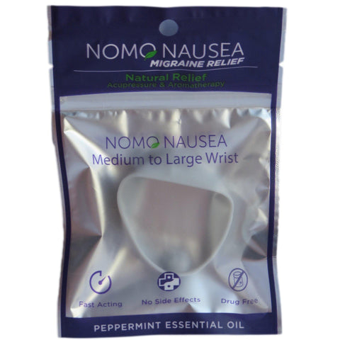 "NoMo Migraine Relief Band Large Wrist (>6.25"")"