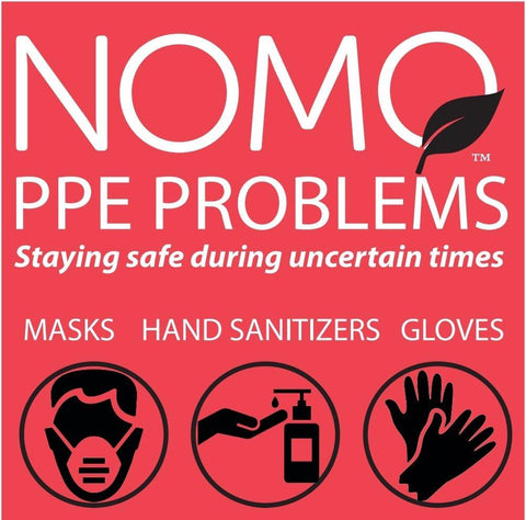 PPEKit by NoMoNausea |Hand Sanitizer |Blue Nitrile Gloves | Face Mask
