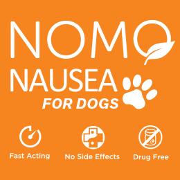NoMo Nausea Dog - Stop Dogs Car Sickness Now