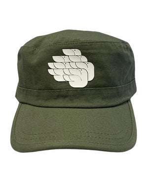 Open image in slideshow, DOVES SWEDISH DOVES MILITARY CAP KHAKI