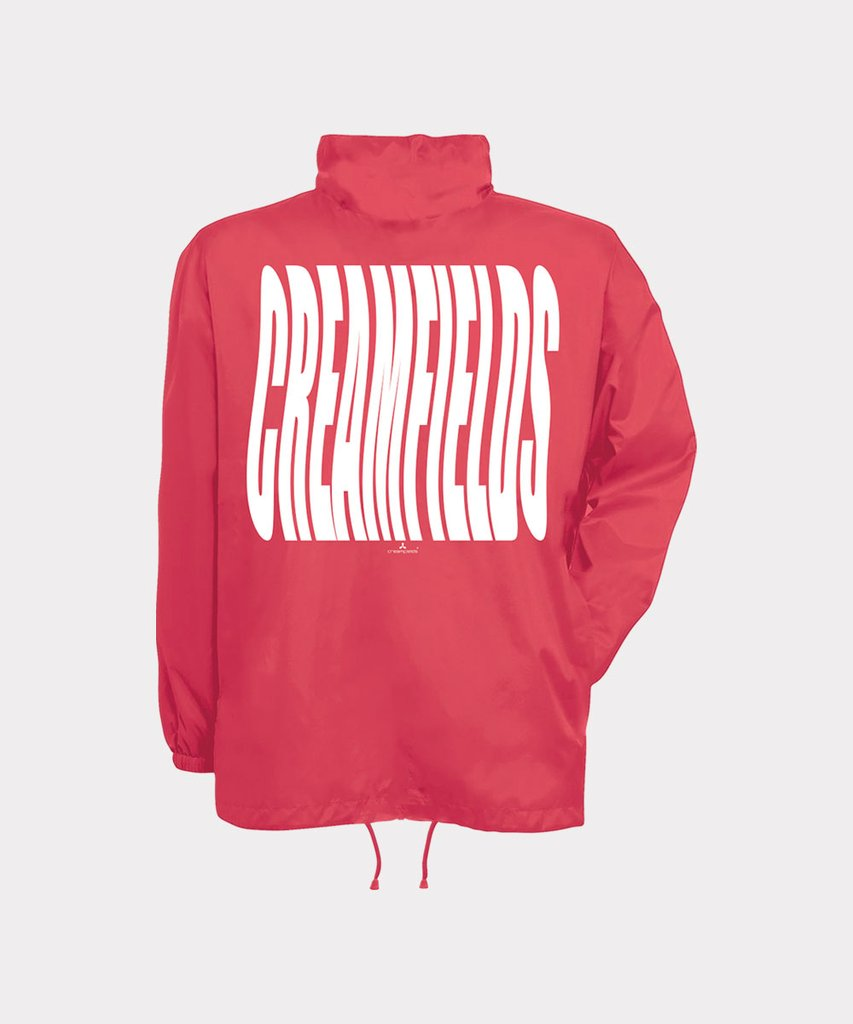 Wavefields Coral Windbreaker