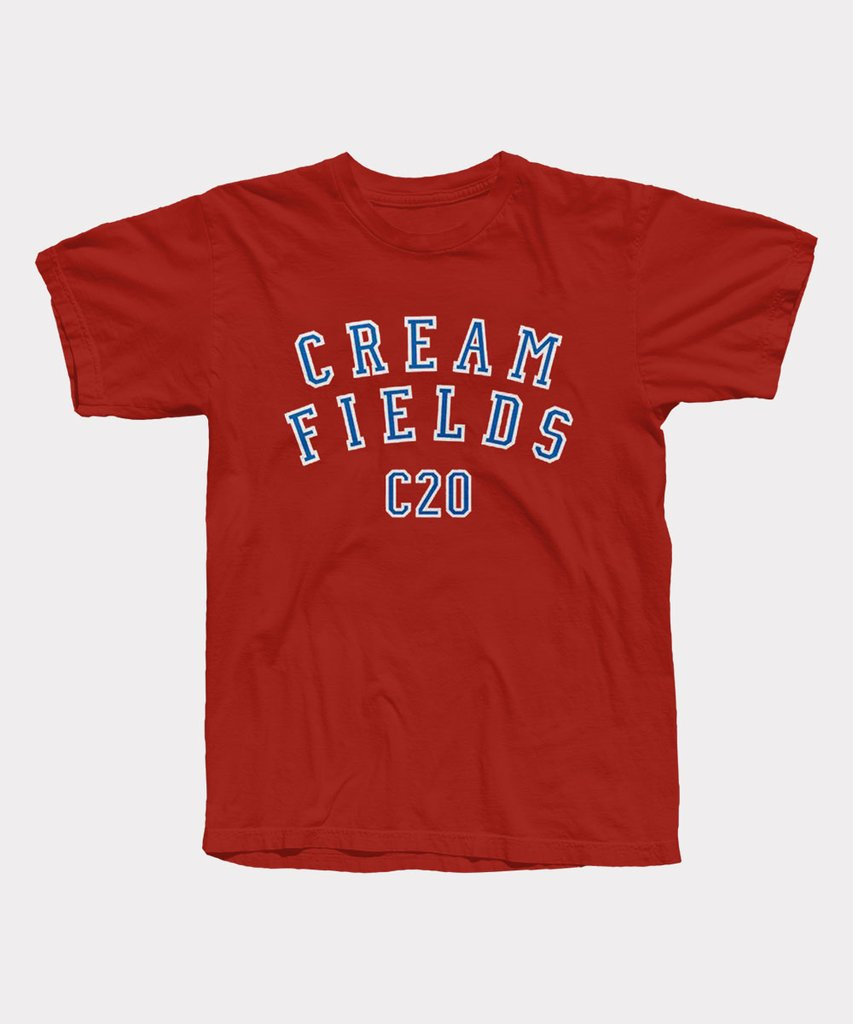 Creamfields Varsity Red T-Shirt