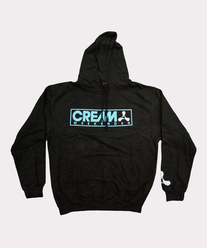 Creamfields 2019 Cream Weekender Hoodie Jet Black