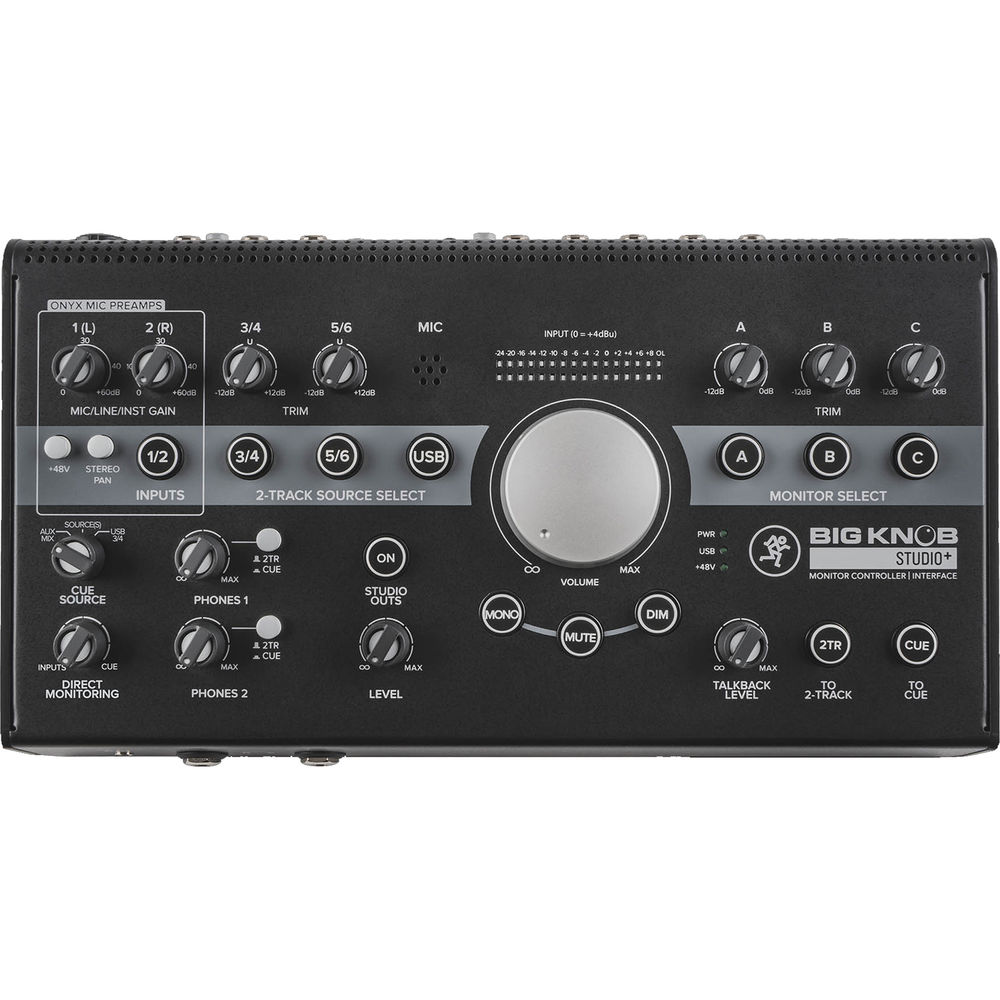 Mackie Big Knob Studio Plus 4 X 3