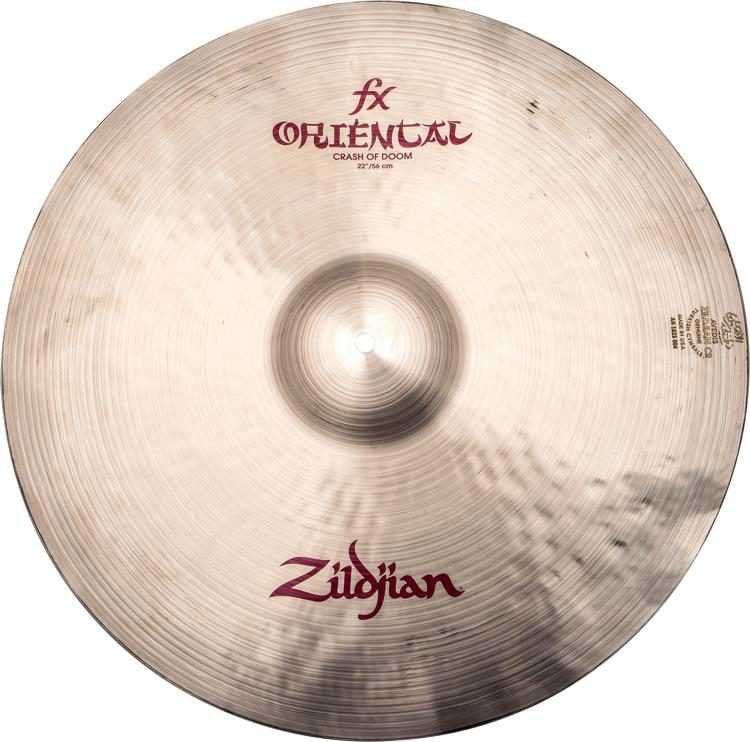 "Zildjian A0623 22"" FX Oriental Crash of Doom"