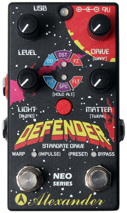 Alexander Pedals Defender Digital Distortion