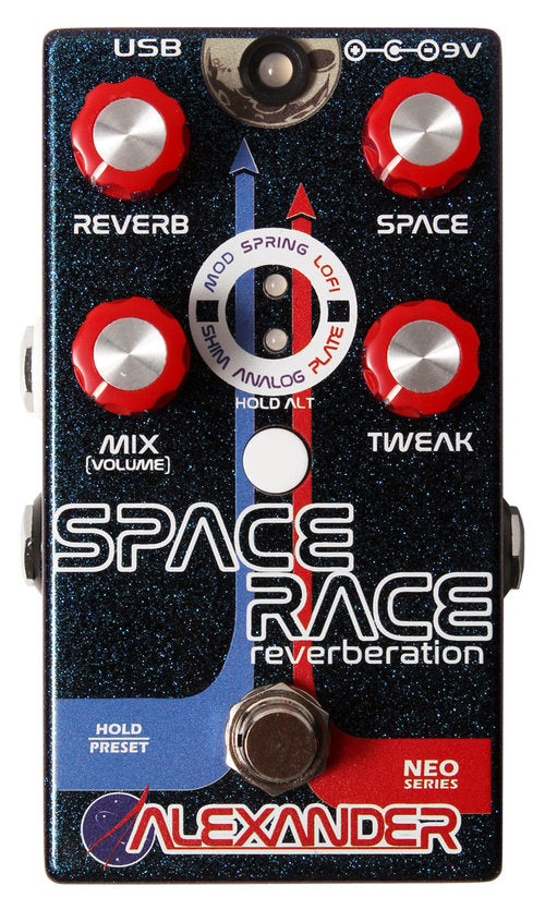 Alexander Pedals Space Race Reverberation