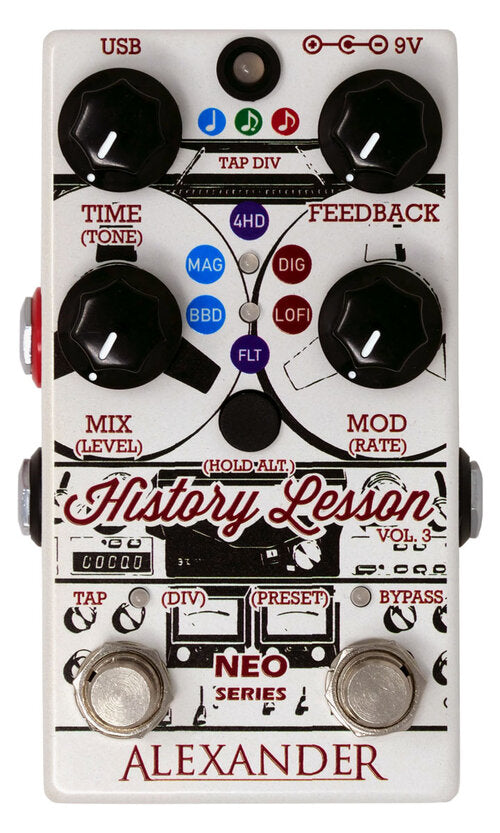 Alexander Pedals History Lesson V3 Delay