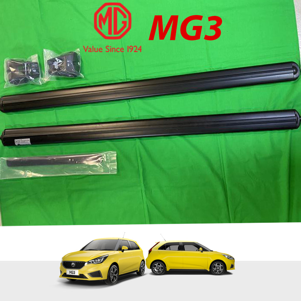 MG3  Genuine Roof Rails kit - Black With Logo - Set Of 2