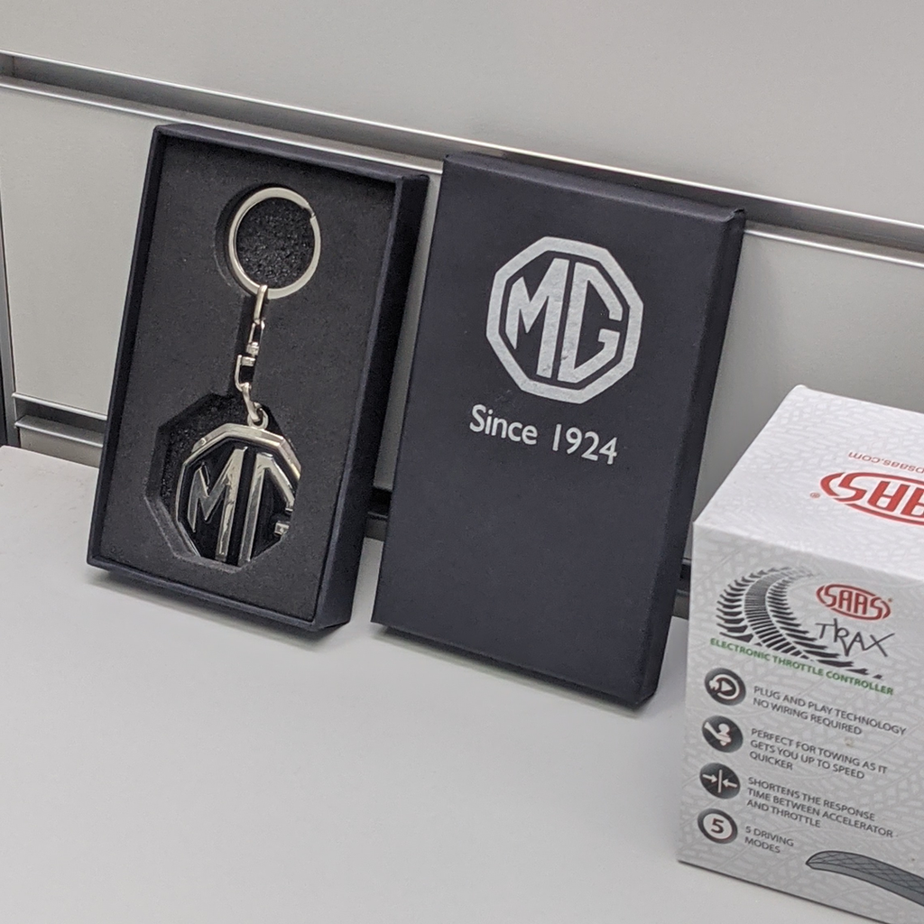 MG Logo Premium Key-Ring