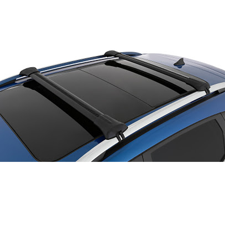 MG ZS, MG ZST, MG ZSEV Genuine Roof Rails kit - Black With Logo - Set Of 2