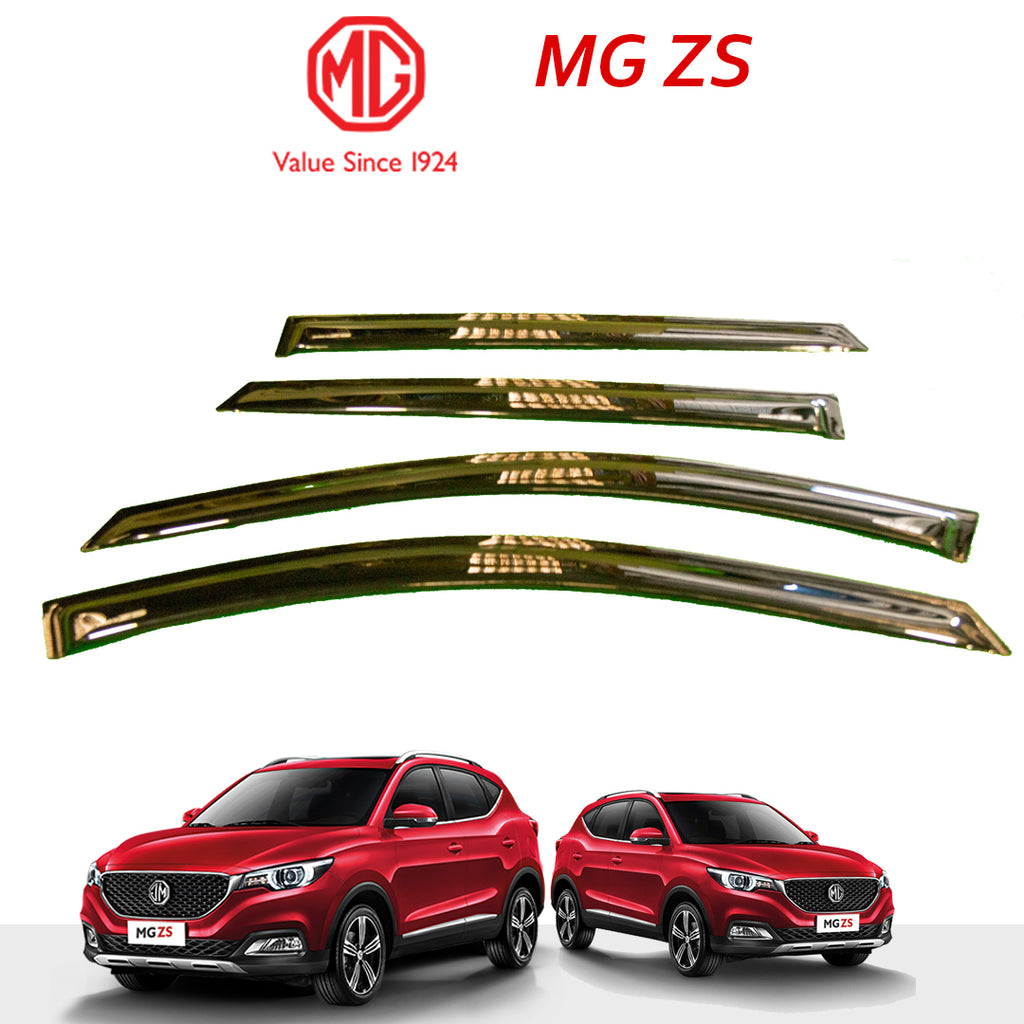 MG ZS Genuine Window Deflector - Black With Logo.