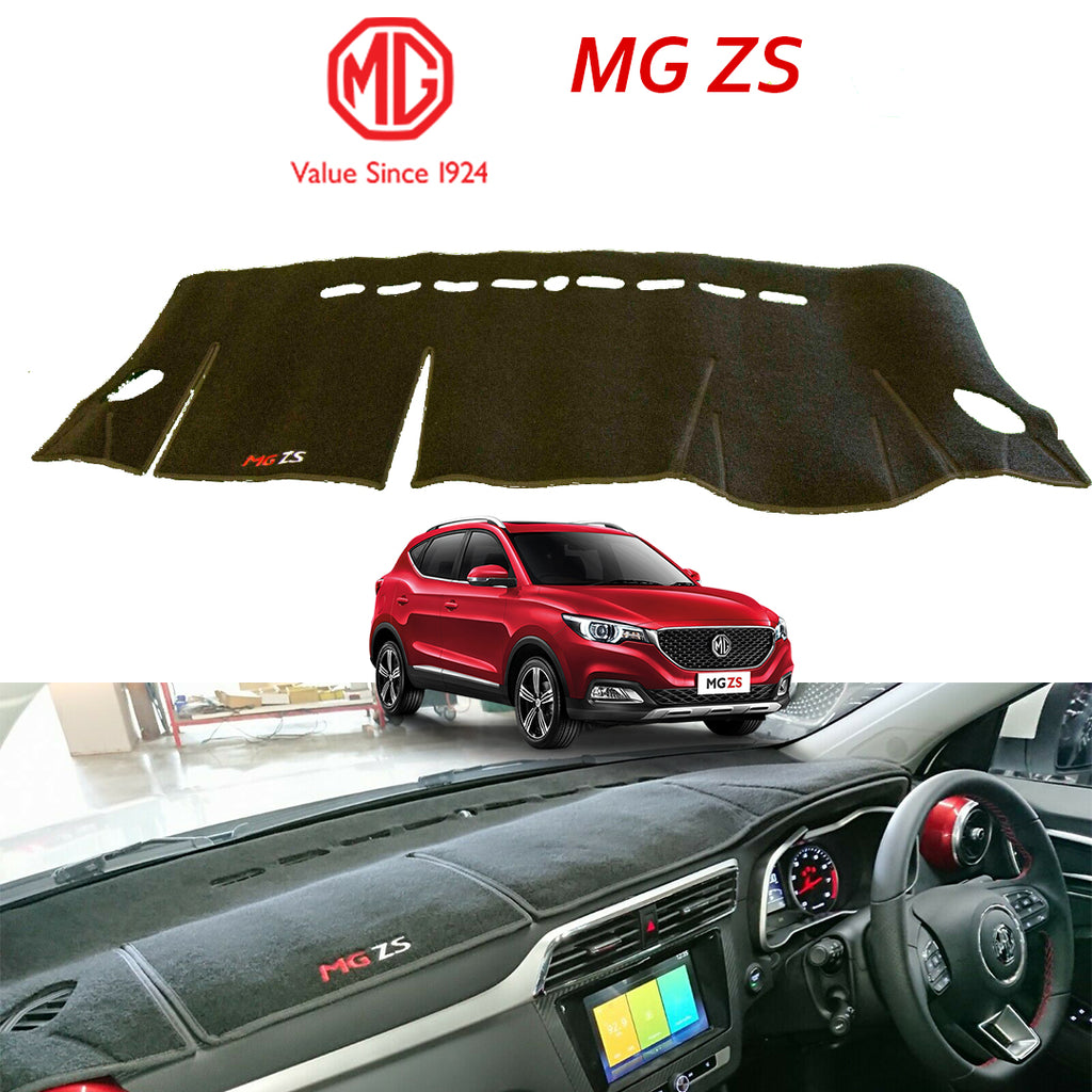 MG ZS Genuine Dashboard Mats- Black With Logo.