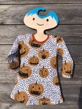 Load image into Gallery viewer, Halloween Kids A-Line Dress