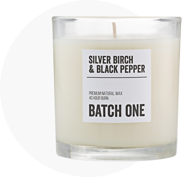 Candle specifications:
