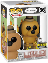 "Load image into Gallery viewer, Funko Pop! Icons ""THIS IS FINE DOG"" #56 Entertainment Earth Exclusive"