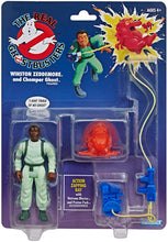 Load image into Gallery viewer, The Real Ghostbusters Kenner Classics Retro Figure - Winston Zeddemore and Chomper Ghost - Walmart Exclusive