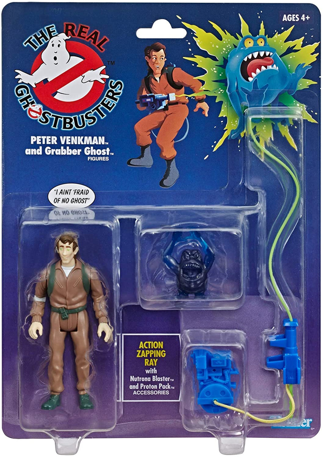 The Real Ghostbusters Kenner Classics Retro Figure - Peter Venkman and Grabber Ghost - Walmart Exclusive